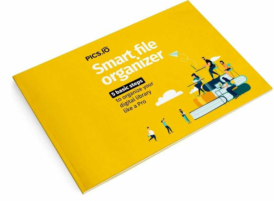 Smart file organizer Pics.io e-book