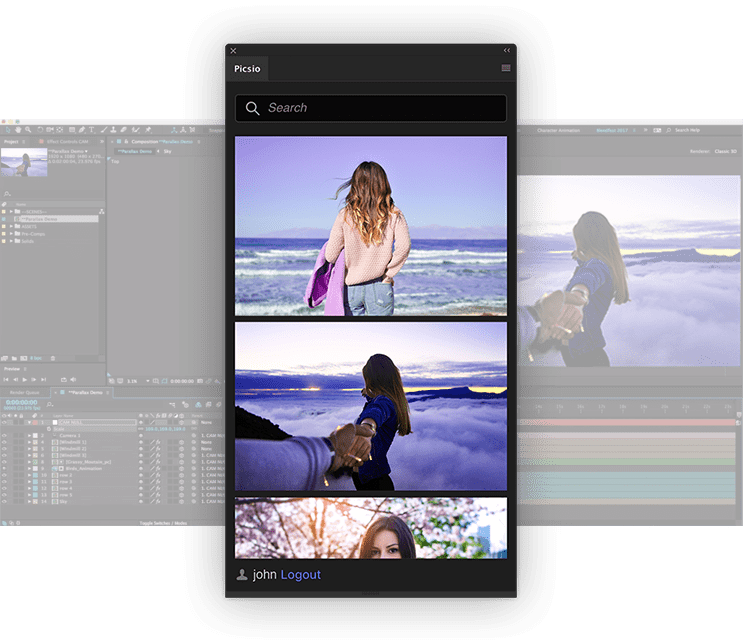 Pics.io video editor