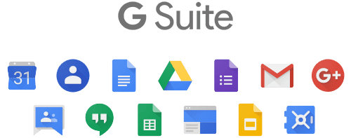 All G Suite tools