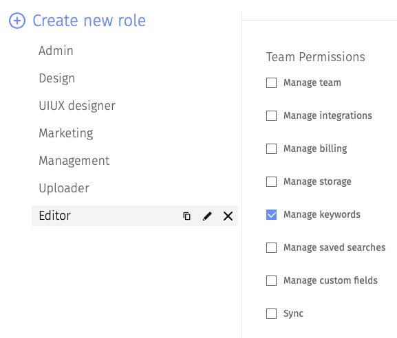 Editor's role