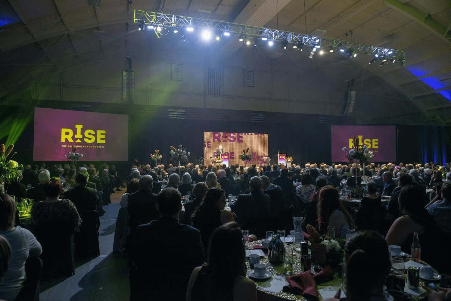 Photo from RISE gala event. Courtesy of Concordia College.