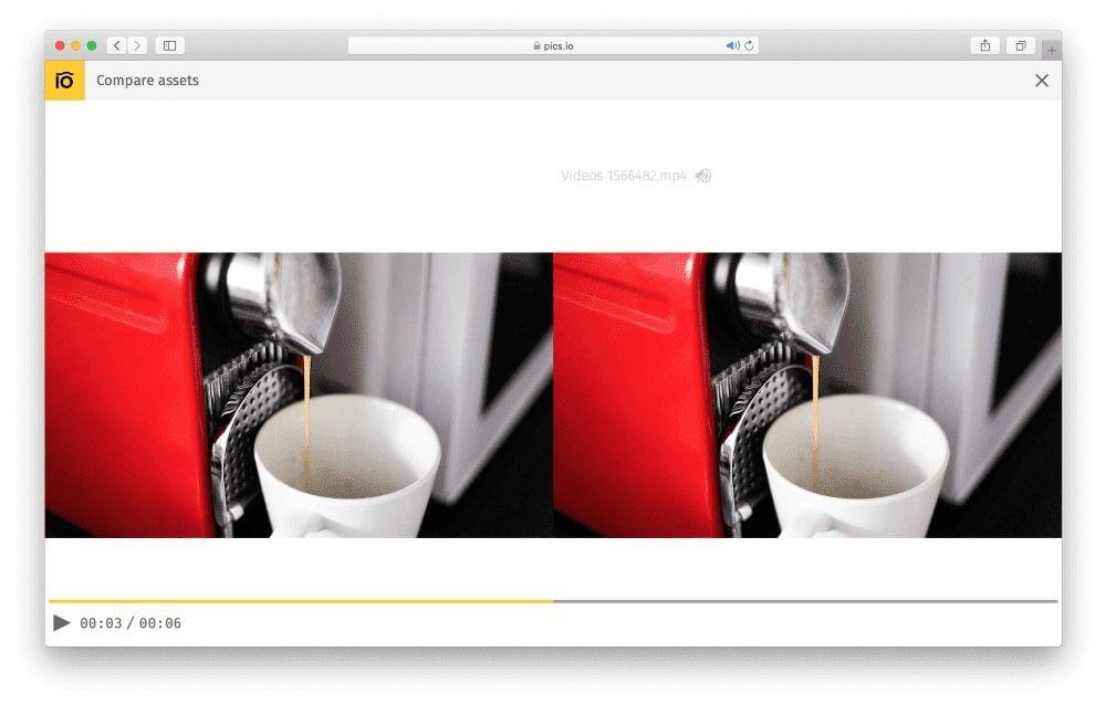 Pics.io file comparison