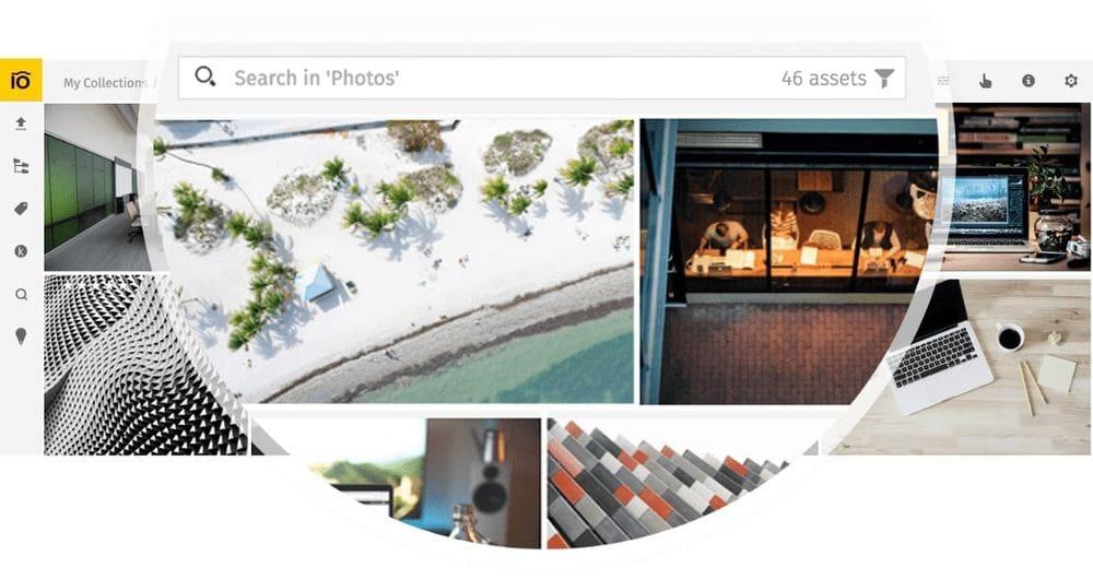 Photo search in Pics.io