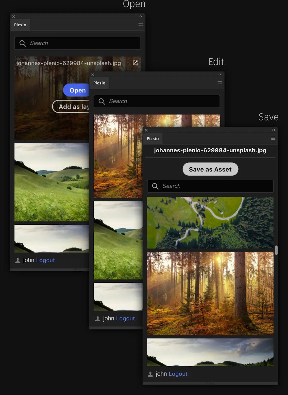 Centralized asset storage with Pics.io