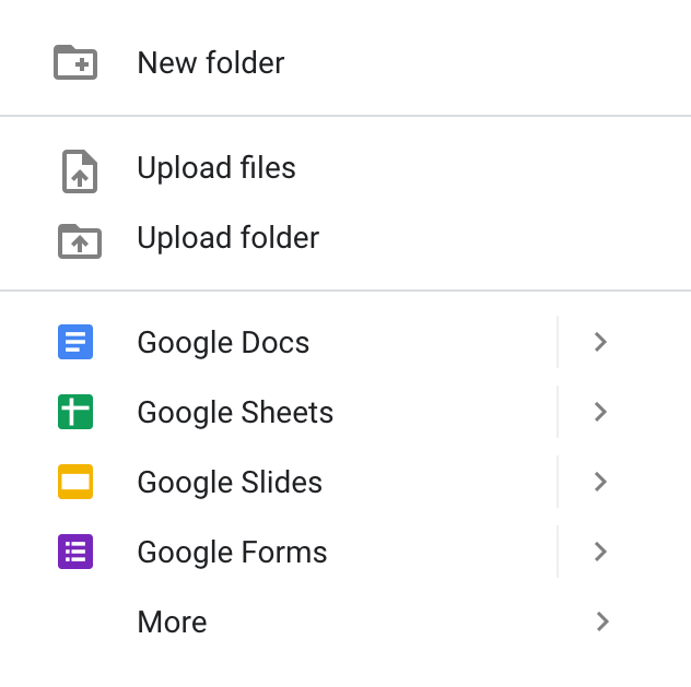 Upload a folder to Google Driv