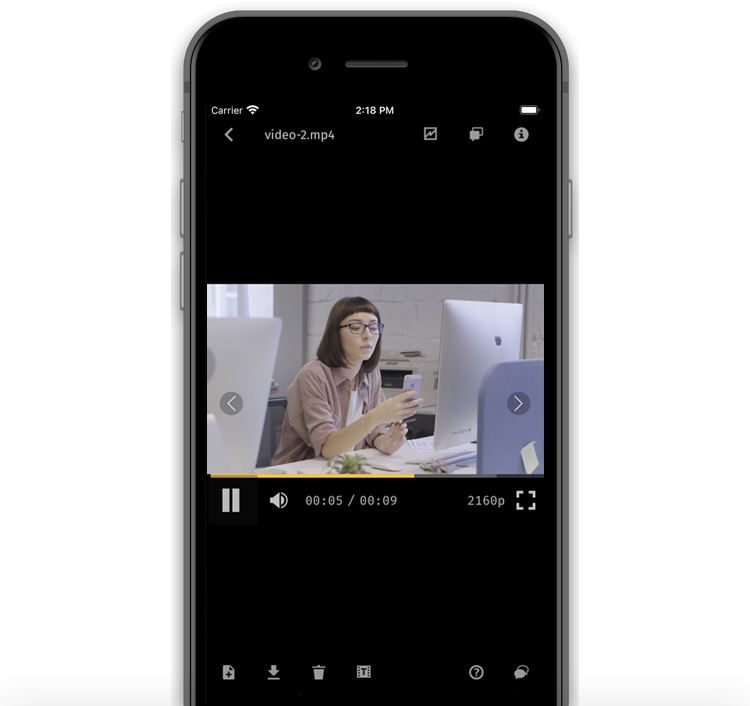 Watch videos on your mobile phone