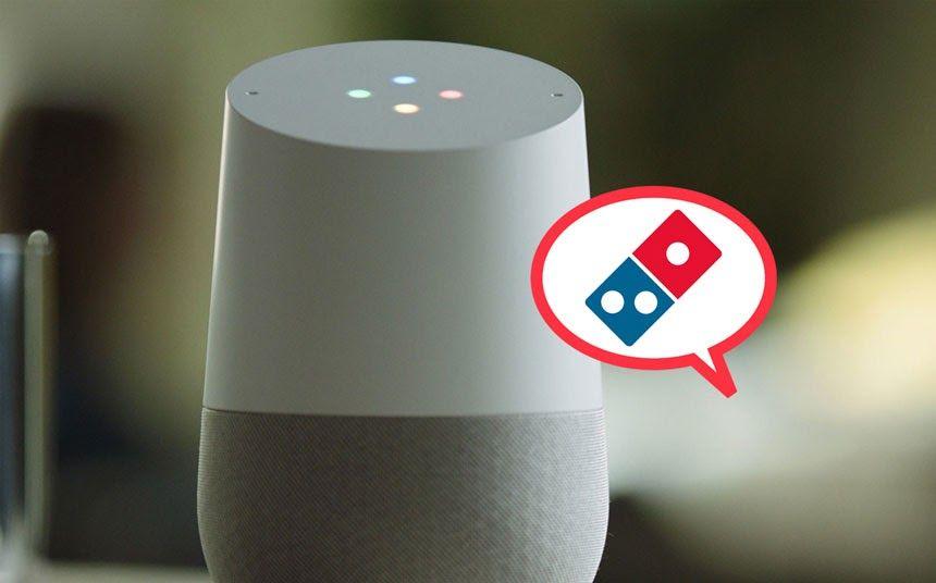 Domino's voice search