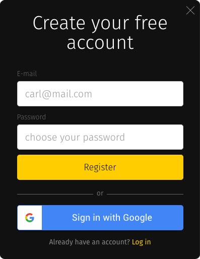 Getting registered with Pics.io DAM